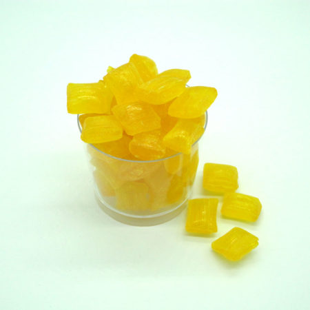 Pineapple Chunks sweets to buy online from Saltire Candy