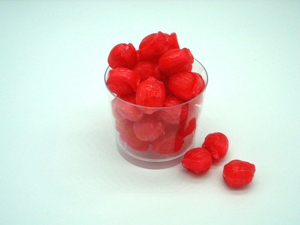 Sherbet Strawberries sweets to buy online from Saltire Candy