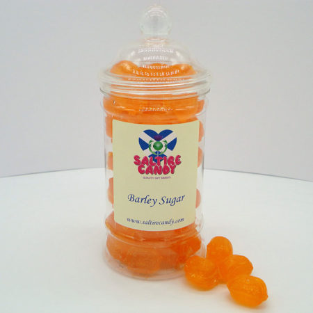 Barley Sugar Sweet Jar available to buy online from Scottish Sweet Shop Saltire Candy
