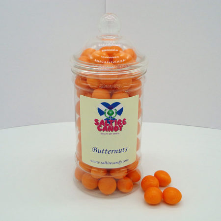 Butternuts Sweet Jar available to buy online from Scottish sweet shop Saltire Candy