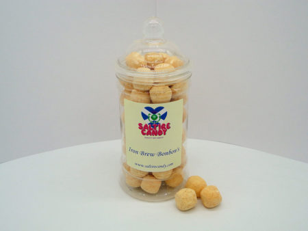 Iron Brew Bonbon's Sweet Jar available to buy online from Scottish Sweet Shop Saltire Candy