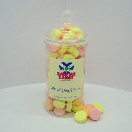 Mixed Oddfellows Sweet Jar available to buy online from Scottish sweet shop Saltire Candy