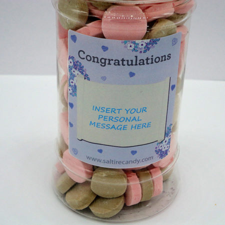 Personalised Jar Congratulations Female (Aromatics)