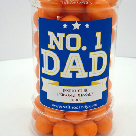Personalised Jar Fathers Day (Butternuts)