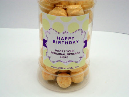 Iron Brew Bonbon's Personalised Sweet Jar available to buy online from Scottish sweet shop Saltire Candy