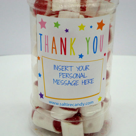 Personalised Jar Thank you Female (Clove Rock)