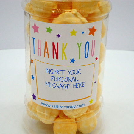 Iron Brew Creams Personalised Sweet Jar available to buy online from Scottish sweet shop Saltire Candy