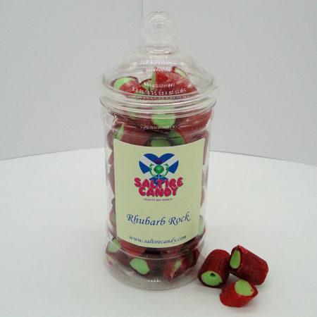 Rhubarb Rock Victorian Sweet Jar