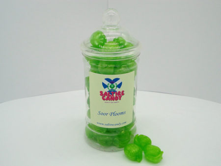 Soor Plooms Sweet Jar available to buy online from Scottish sweet shop Saltire Candy
