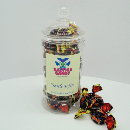 Treacle Toffee Sweet Jar available to buy online from Scottish sweet shop Saltire Candy