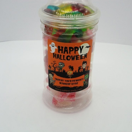 Spooky Halloween Personalised Sweet Jar