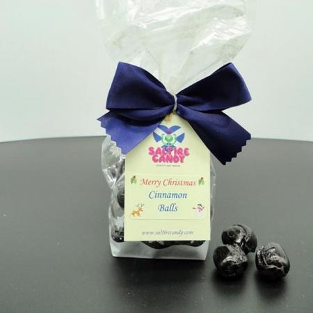 Cinnamon Balls Snowflake Christmas Gift Bag