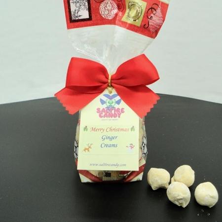 Ginger Creams Christmas Santa Gift Bag