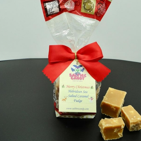 Hebridean Sea Salted Caramel Santa Christmas Gift Bag
