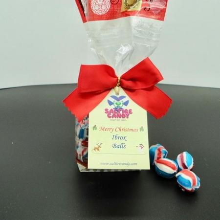 Ibrox Balls Santa Christmas Gift Bag