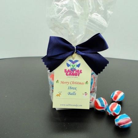 Ibrox Balls Snowflake Christmas Gift Bag