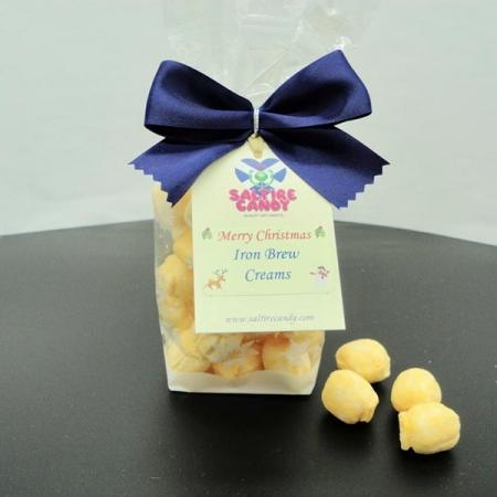 Iron Brew Creams Christmas Snowflake Gift Bag
