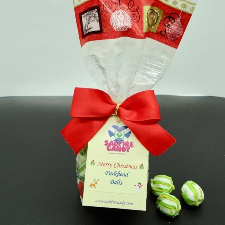 Parkhead Balls Santa Christmas Gift Bag