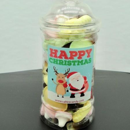 Retro Mix Christmas Sweet Jar