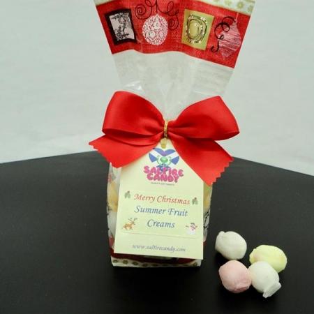 Summer Fruits Creams Christmas Santa Gift Bag