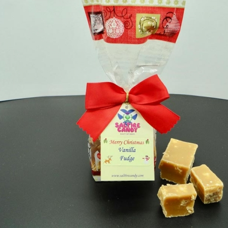 Vanilla Fudge Santa Christmas Gift Bag