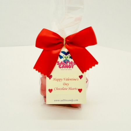 Chocolate Hearts Valentine's Day Gift Bag