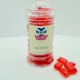 Cola Chunks Sweet Jar available to buy online from Scottish sweet shop Saltire Candy
