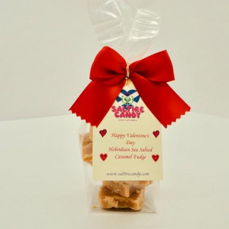 Hebridean Sea Salted Caramel Valentine's Gift Bag