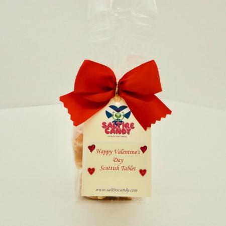 Scottish Tablet Valentine's Day Gift Bag